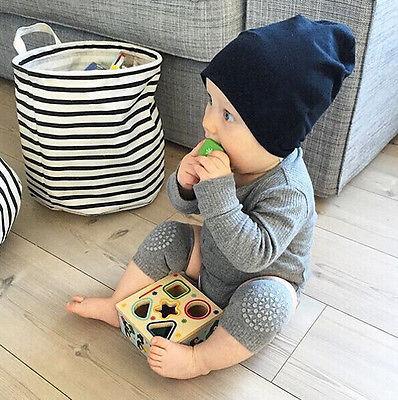 Accesorios para bebés seguridad codo gateando rodilla transpirable calentador Protector Gel de sílice puntos antideslizantes rodilleras