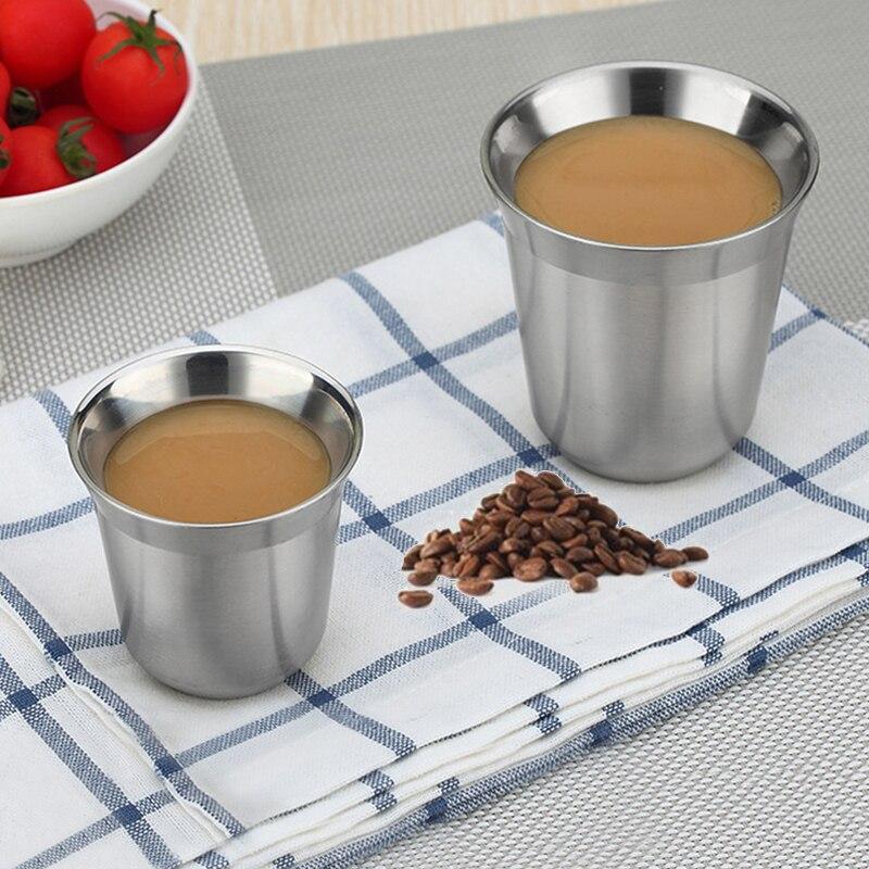 Venda quente 1 pçs copos pixie espresso dolce gusto parede dupla thermo cápsula copo de café suprimentos para animais estimação