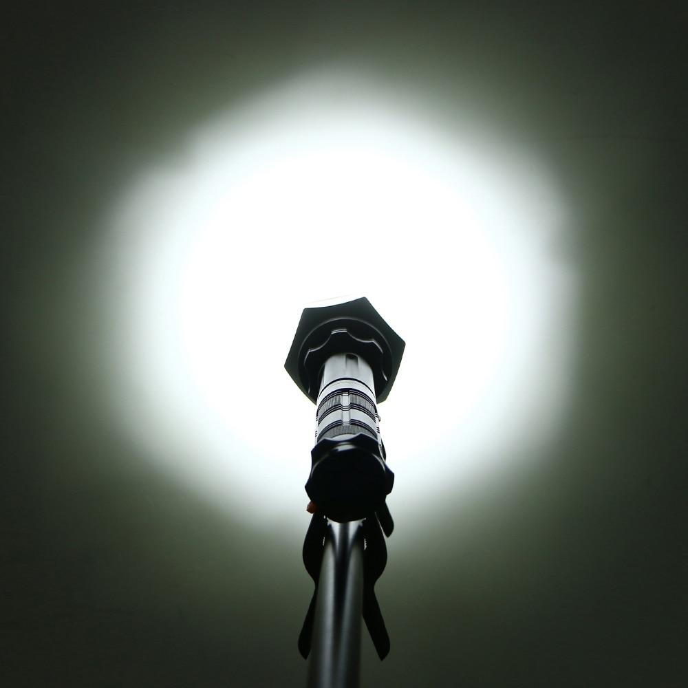 Sofirn SF22 Kit Powerful LED Flashlight Self defense Cree XML2 6000LM LED Flashlight 18650 Military Tactical lanterna Adjustable enlarge
