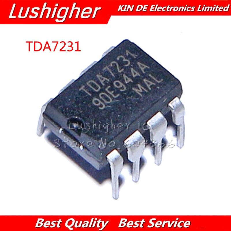 5 uds TDA7231A DIP8 TDA7231 DIP-8 7231A DIP