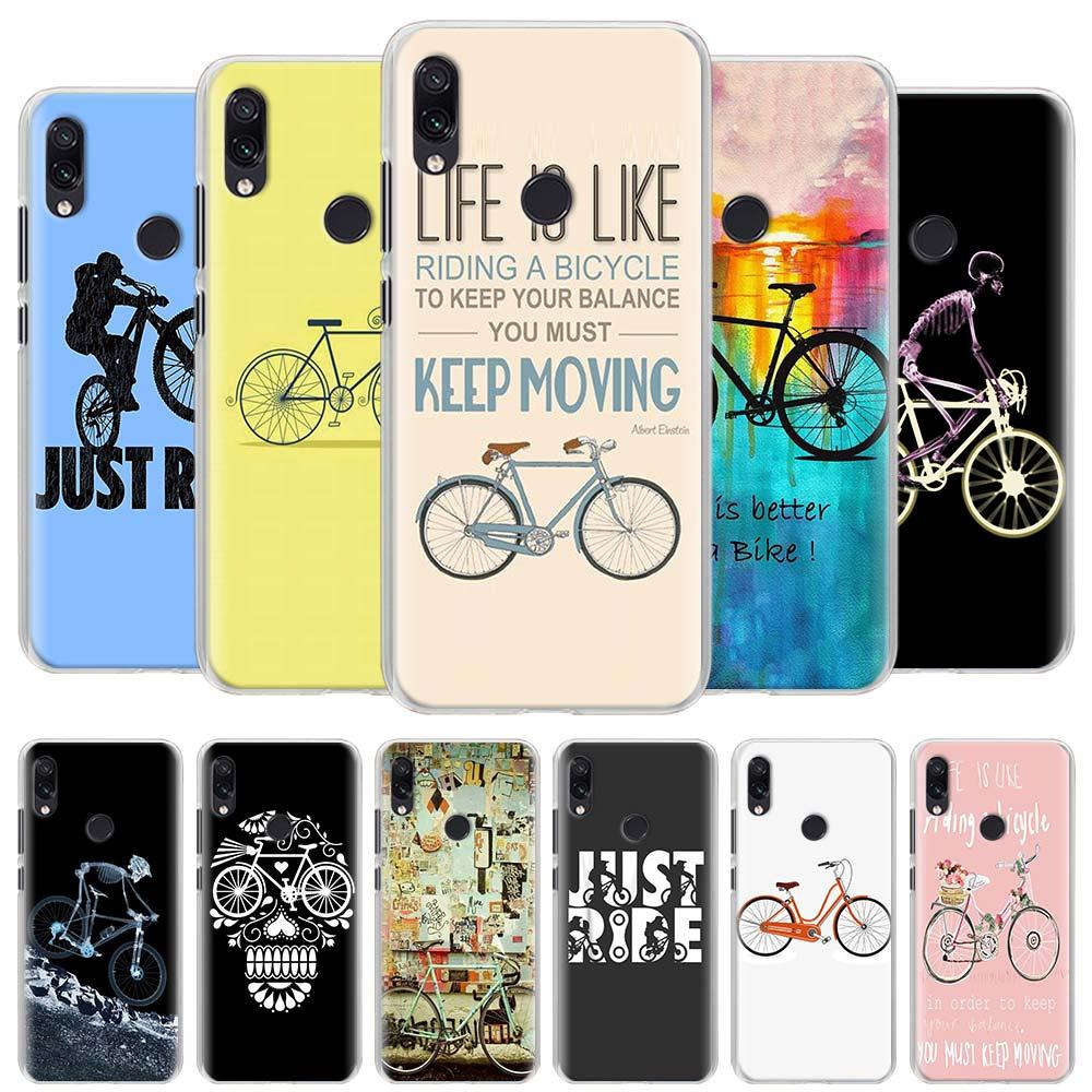 Funda para teléfono Just Ride montaña ciclismo bicicletas para Redmi Note 5 6 7 8 Pro 8T S2 GO Redmi 7 7A 8A K20 Pro 6 6A 5 Plus