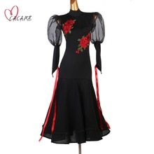 Fashion Ballroom Dance Wear Costume Competition Dresses Waltz Dress Standard Dancing Clothes Stage F