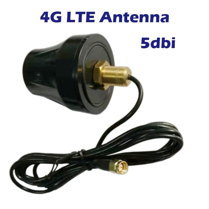 Antena de exterior 4G impermeable con cable de antena 3 metros de gabinete conector SMA pared fija para Router GPRS GSM Hub Hotspot DTU M2M