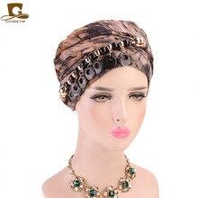 New Jewerly Style Tie Dye Long Headscarf Fashion Muslim Hijab Multifunction Scarf Wrap Hair Headwear