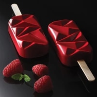 durable 4 cavity diamond ice pop mold dust resistant ice pop makers silicone easy home made popsicles mould diy ice making tray
