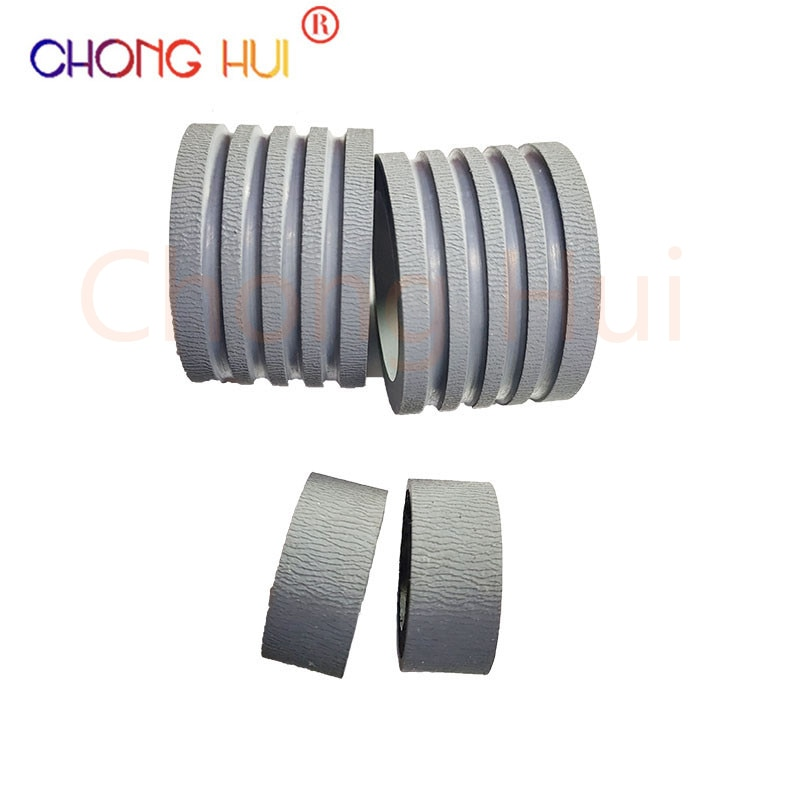 1Set  Paper Pickup Roller Tire For CANON DR-M160 DR-C240 C230 M260 ScanFront400 160 240 230 260 400 Scanner paper take up wheel