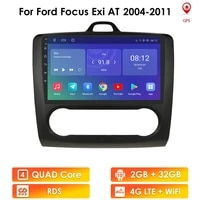 android 10 car radio player for ford focus exi at mk2 2004 2011 multimedia stereo video player navigation gps 2 din quad core