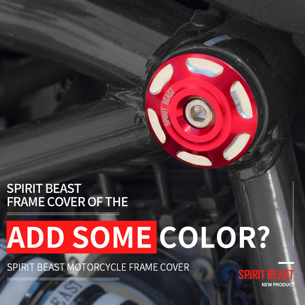Spirit Beast Motorcycle Frame Motorbike Body Screw Cover for Benelli TNT125 TNT300 BN300 BJ300GS 752