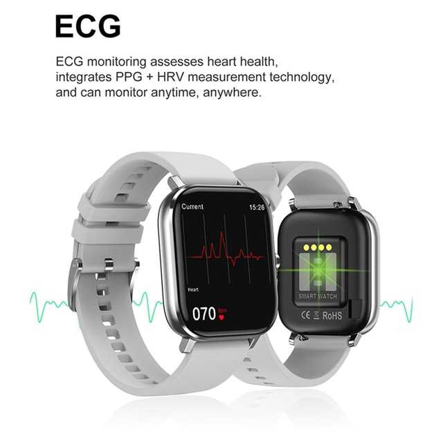 Reloj Inteligente Smart Watch Bluetooth Call IP67 ECG 2021 Smartwatch Men Sprot Smart Watch For Android Xiaomi Huawei IOS Iphone 10