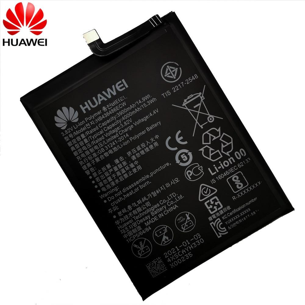 Hua Wei Replacement Phone Battery HB436486ECW 3900mAh for Huawei Mate 10 / 10 Pro Mate 20 P20 Pro Honor V20 Original Batteries enlarge