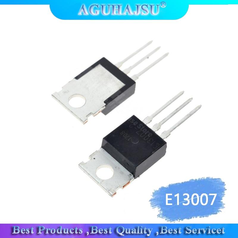 5PCS/Lot Brand New Transistor E13007 E13007-2 MJE13007 e13007 Triode TO-220 Wholesale Electronic 13007
