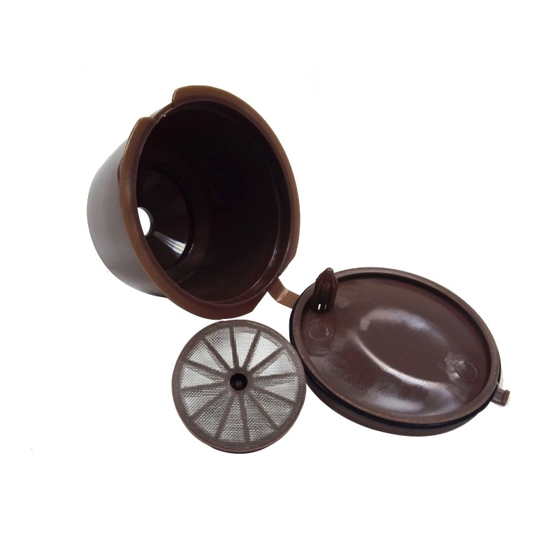قابلة لإعادة الاستخدام تصفية كبسولة القهوة مصفاة فلتر الأكواب Nescaf إعادة الملء حامل كوب قهوة مصفاة فلتر القهوة الفولاذ المقاوم للصدأ