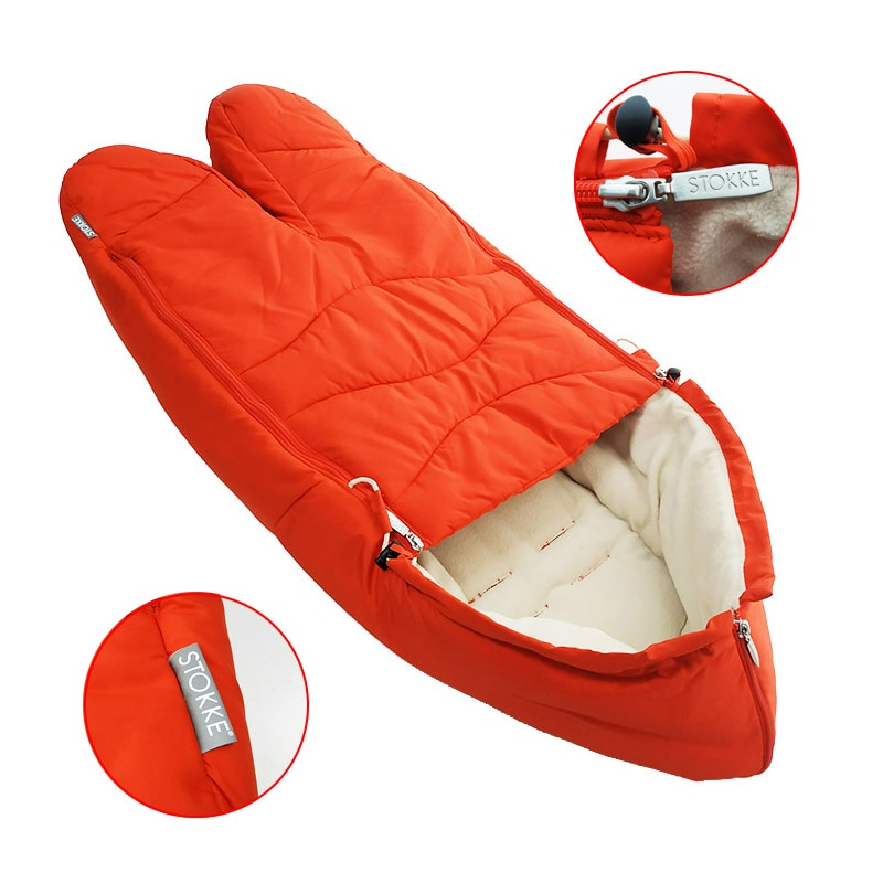 Sleeping Bag For Stokke Xplory V3 V4 V5 V6 Dland Stroller Original Baby Cart Accessories High Quality Foot Cover