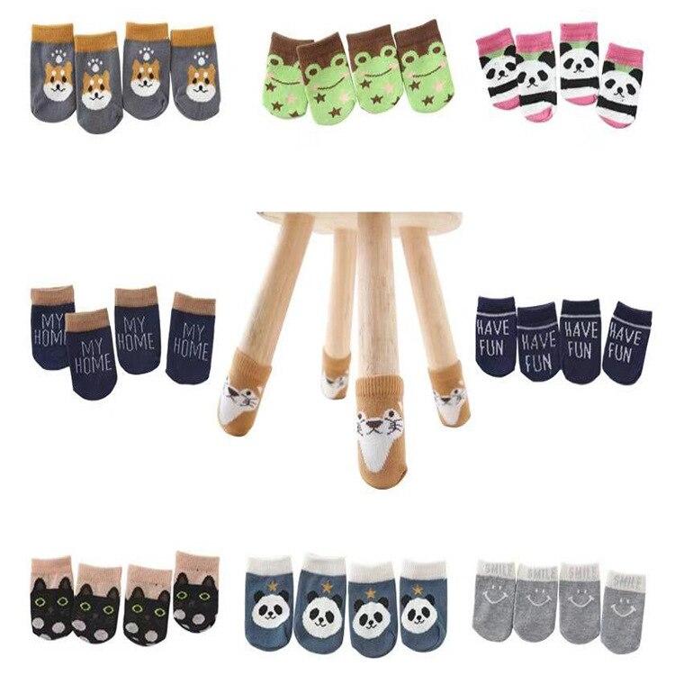 Носки для ножек мебели, эластичные вязаные защитные накладки на ножки стула, 16 шт.