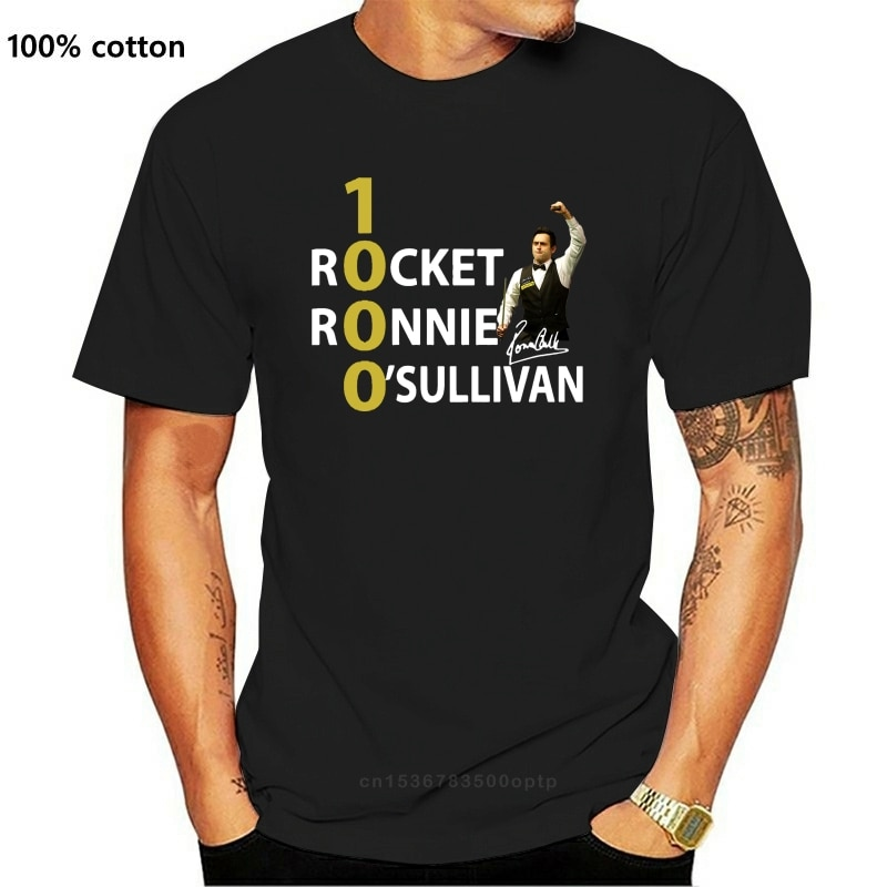1000 rakete Ronnie O??Sullivan Hemd S-3Xl Made In Usa Kurzarm T Hemd