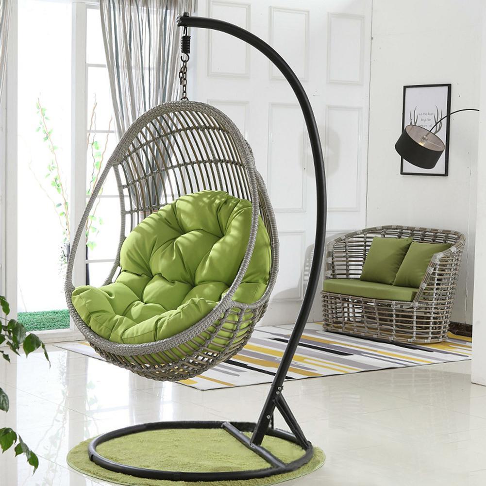 Almofada suspensa balanço, assento grosso de cadeira para pendurar em casa, sala de estar, camas penduradas, cadeira de balanço