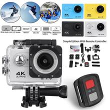 4K Action Camera With Ultra HD 1080p Screen Underwater 30m Waterproof Sport Camera Go Extreme Pro Ca