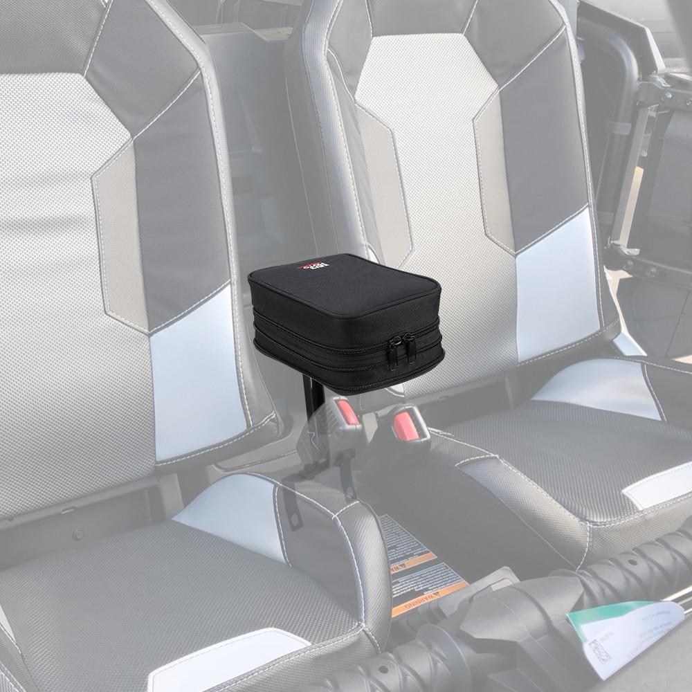 KEMIMOTO UTV Armlehne Sicher Konsole Zentrum Speicher Tasche für Polaris RZR 900 S 1000 S XP 1000 Turbo 2014 2015 2016 2017 2018 2019