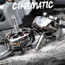 1/2/4 pièces Flywoo Nin 2306.5 V2 1350KV 1750KV 4-6S / 2450KV 4-5S moteur sans brosse cinématographique pour RC FPV course Drone RC pièces
