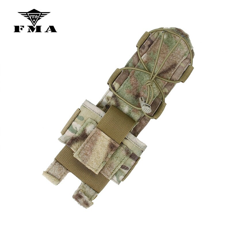 Bolsa táctica FMA, bolsa de almacenamiento de batería MK3, funda especial, pasta Multicam adjunta para casco táctico