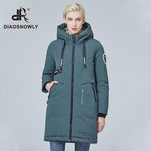 Diaosnowly 2020 mode femme parkas hiver femmes veste chaude et manteau femme coupe-vent veste hiver vêtements femmes