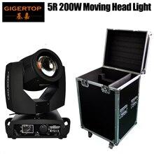Chine 1in1 Flight Case emballage Disco Club 5R tête mobile Spot lumière TP-5R Sharpy faisceau 200W tête mobile noir maison Phase moteur