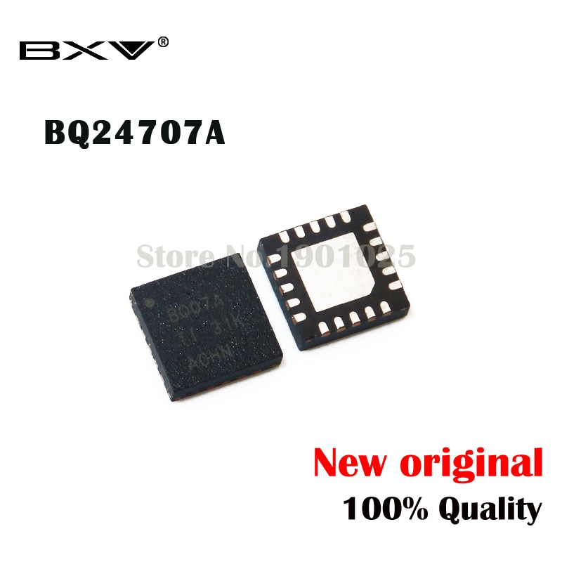 5 uds BQ07A QFN-20 BQ24707A nuevo original