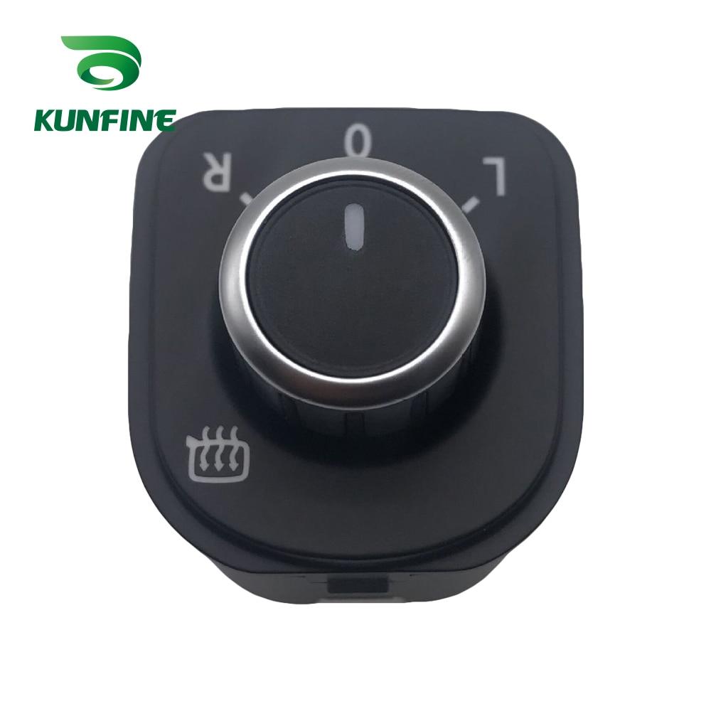 Botón del interruptor de ajuste del espejo lateral del coche KUNFINE para Jetta MK5 Golf MK5 MK6 Rabbit Eos Passat B6 B7 3C Tiguan 5ND 959 565 B
