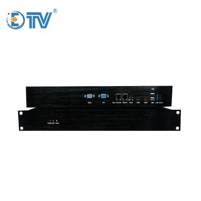 ETV منخفض تأخير 4K فك دعم TS RTSP 16 قناة 1080p فك التشفير