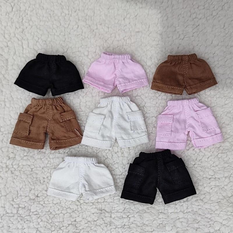 OB11 ropa de bebé pantalones cortos bjd muñeca ropa camiseta para ob11,obitsu 11,molly,1/12 BJD pantalones muñeca accesorios ropa
