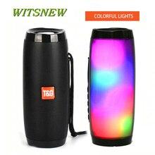 TG157 Bluetooth Lautsprecher Tragbare Outdoor Lautsprecher Wireless Spalte 3D 10W Stereo Musik Surround Unterstützung FM TFCard Bass Box