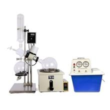 Équipement de laboratoire RE501 évaporateur rotatif petit Volume + pompe à vide à circulation deau