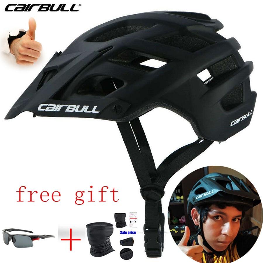 Cairbull rastro XC Cascos Para Bicicleta en el molde MTB casco seguridad...