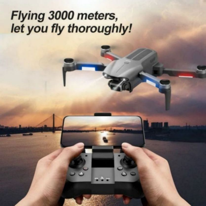 2021 NEW F9 Drone 4K HD Camera FPV GPS Foldable RC Quadcopter Dron Brushless Motor profesional rc helicopter toys for boys Gift enlarge