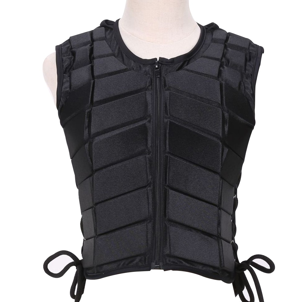 Unisex Damping Adult Safety Armor Equestrian Horse Riding Eventer Outdoor Vest Body Protective Children Sports EVA Padded