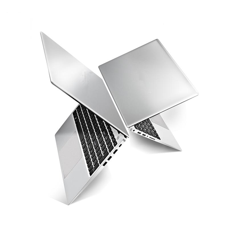 15,6 pulgadas 2G tarjeta dedicada portátil Intel Skylake i7 6500U Quad Core 8GB RAM 1TB SSD Windows10 Netbook PC Con Teclado retroiluminado