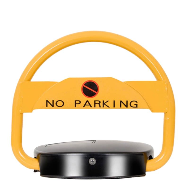 Kin Join High quality waterproof solar powered automatic car parking space lock Solar remote car parking lock 4 orders