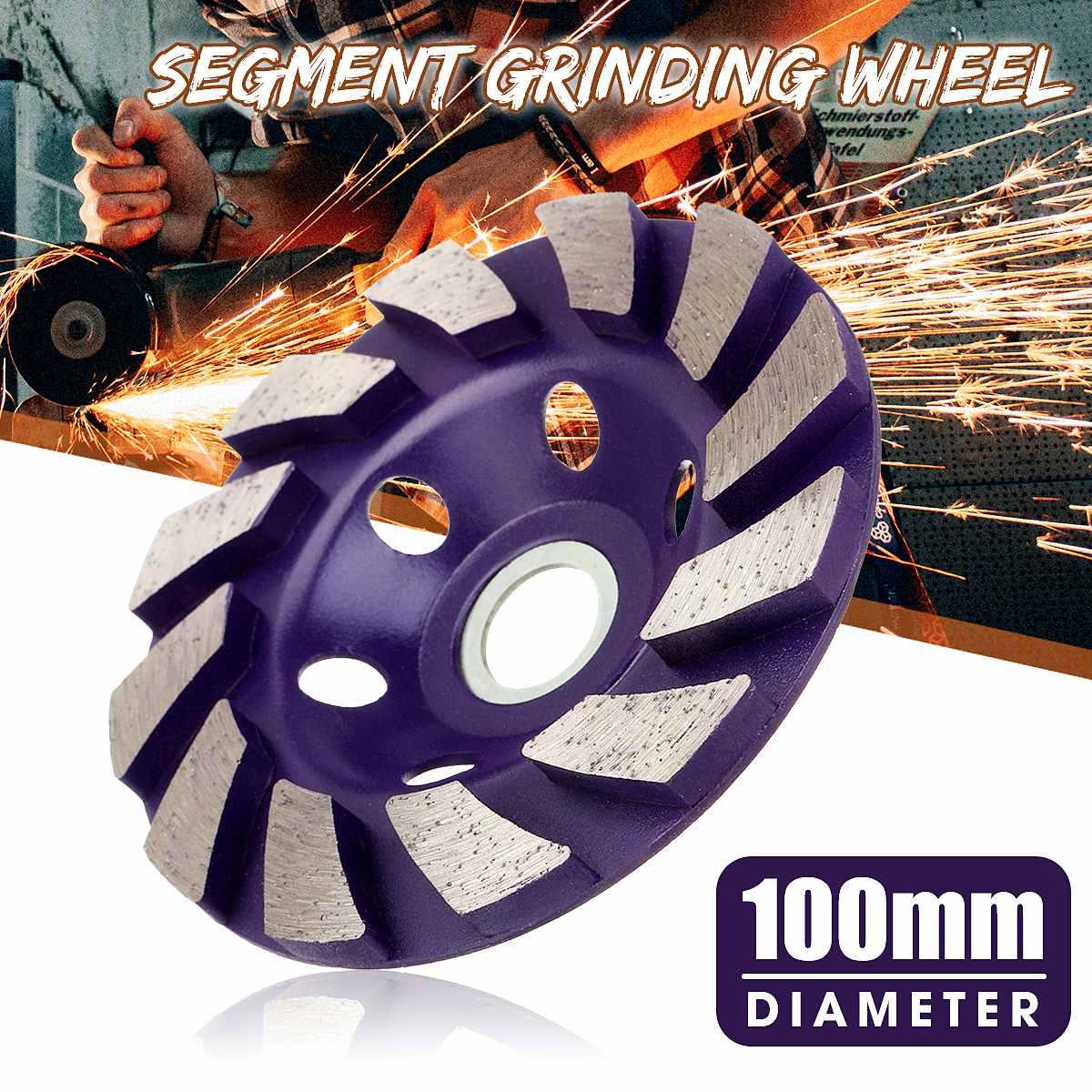"1pcs 4"" 100mm Diamond Grinding Wheel Disc Bowl Shape Grinding Cup Concrete Granite Stone Ceramic Cutting Disc Piece  Tools"