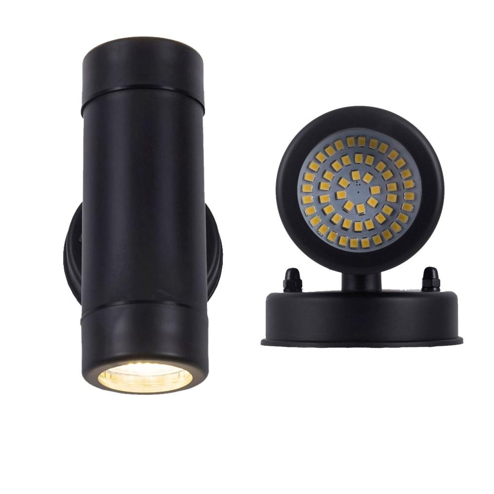 moderno para cima e para baixo conduziu a iluminacao ao ar livre lampadas de luz