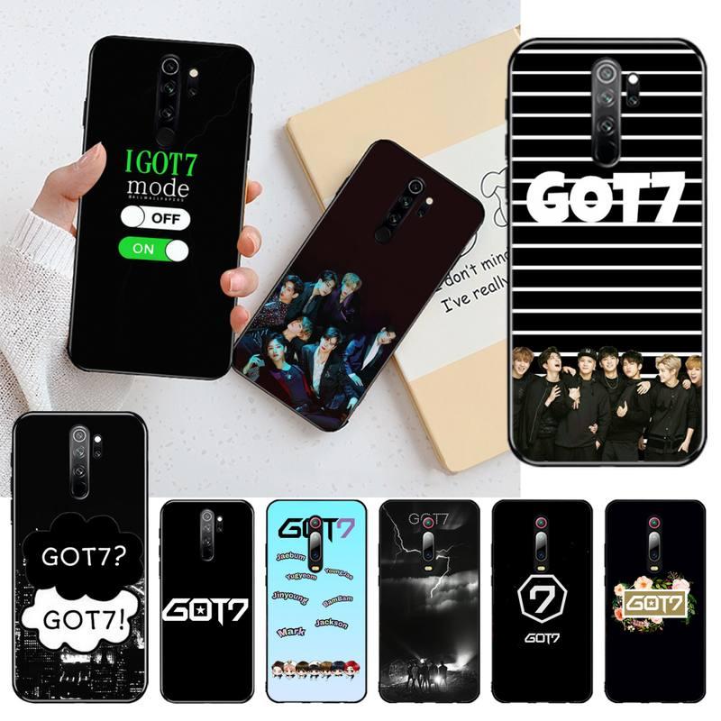 Funda de teléfono de diseño único HPCHCJHM Kpop HIP-HOP GOT7 Jackson Wang para Redmi Note 8 8A 7 6 6A 5 5A 4 4X 4A Go Pro Plus Prime