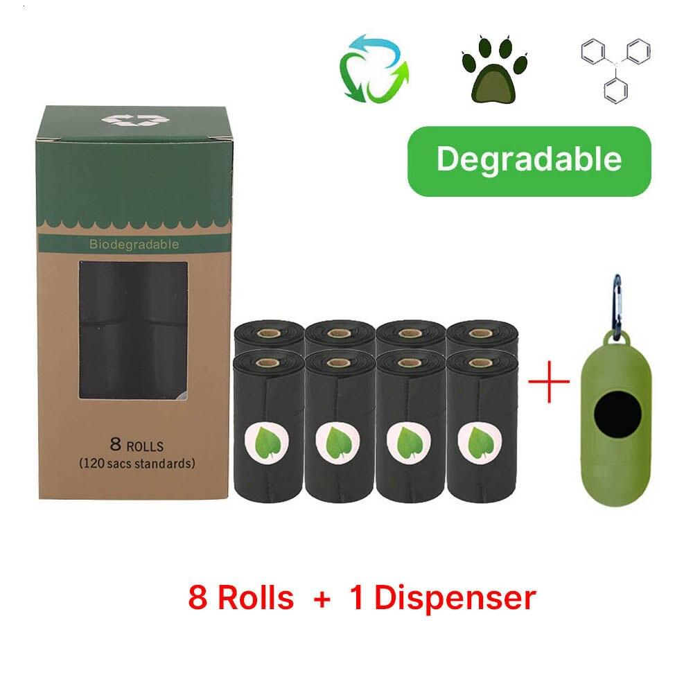 Nuevas bolsas biodegradables para excrementos de perro, bolsas ecológicas para desechos de mascotas, bolsas para excrementos de mascotas, accesorios para caminar
