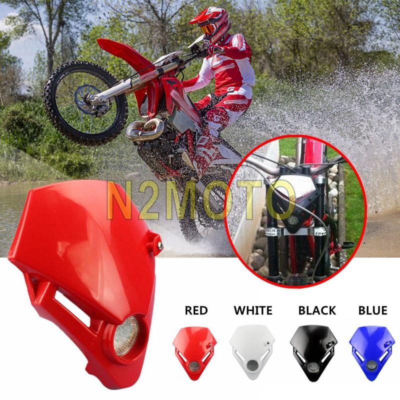 Faro delantero LED para motocicleta, 4 colores, versión para Gas TXT Pro...