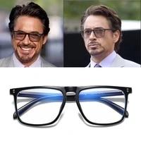 2021 fashion anti blue light glasses blocking filter reduces eyewear strain clear gaming computer glasses men improve comfort