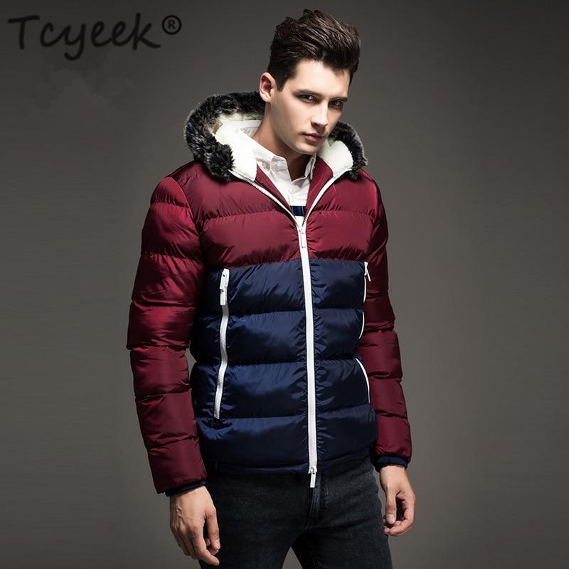 Tcyeek chaqueta de invierno los hombres 2020 ropa de moda de Hombre...