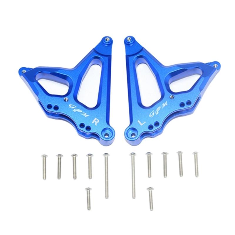 1Pair Aluminum Alloy Suspension Fixed Code for 1/7 TRAXXAS UNLIMITED DESERT RACER UDR RC Car Parts Screws
