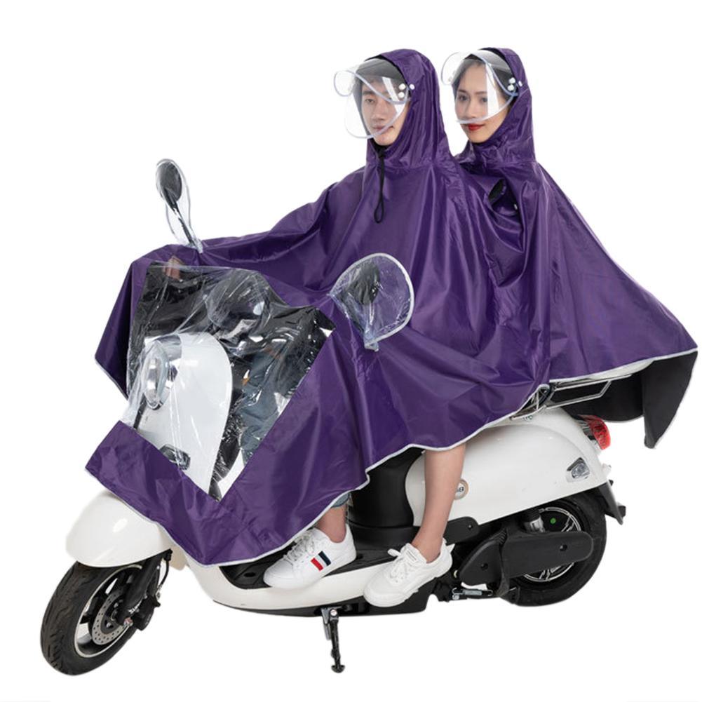 Дождевик мотоциклетный водонепроницаемый пончо для езды на мотоцикле и скутере