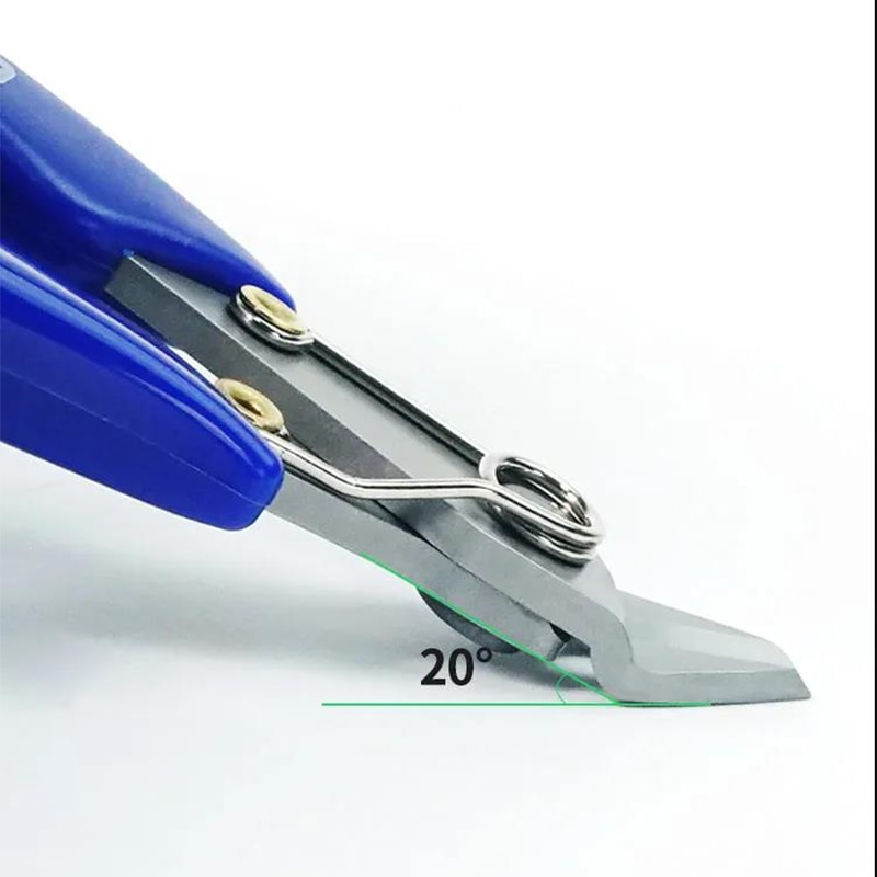 5 hüvelykes precíziós átlós fogó vágófogó nagy keménységű - Kézi szerszámok - Fénykép 2