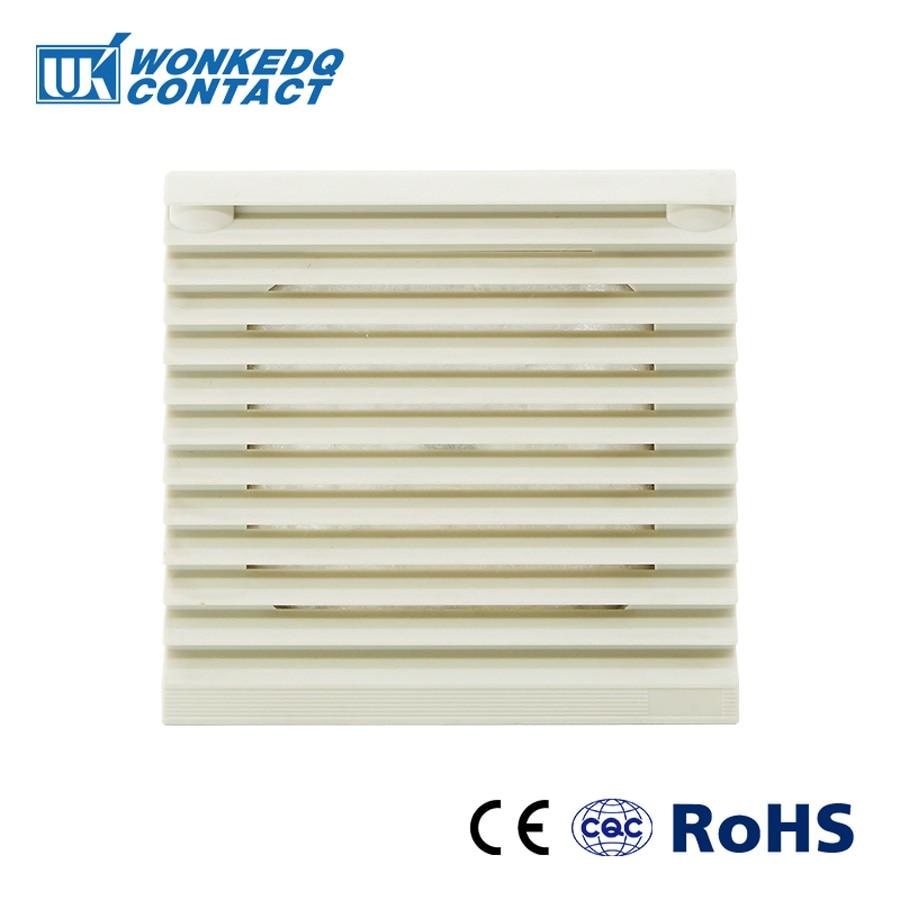 Juego de filtros de ventilación para gabinete persianas cubierta rejilla para ventilador persianas ventilador extractor FILTRO DE FK-3322-300 filtro sin ventilador