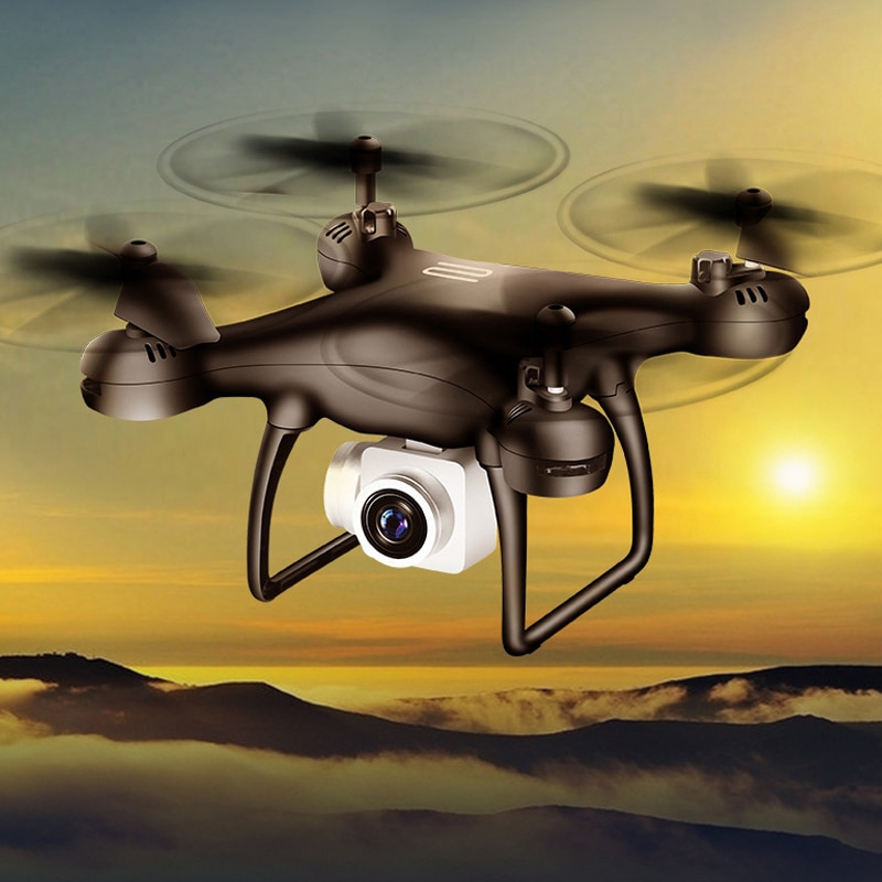Drone 4k Profesional with Camera WIFI FPV RC Quadrocopter Drones Aerial Photography Ultra-Long Life Detachable Camera Dron Toy enlarge