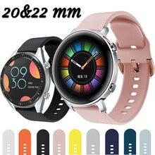สำหรับHuawei Watch GT2 GT 2 2e Pro GT 42มม.นาฬิกาSmart Smart 46มม.20มม.นาฬิกาสายคล้องคอซิลิโคนนาฬิกา Ремешок 22มม.นาฬิกาสร้อยข...